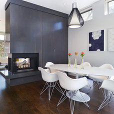 Modern Dining Room by Linc Thelen Design