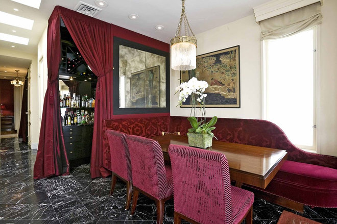 Traditional Dining Room by Jerry Jacobs Design, Inc.