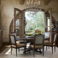 Traditional Dining Room by Slifer Designs