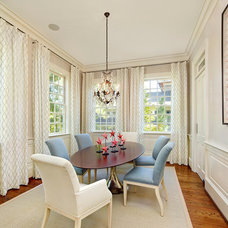 Traditional Dining Room by R.M. Buck Builders