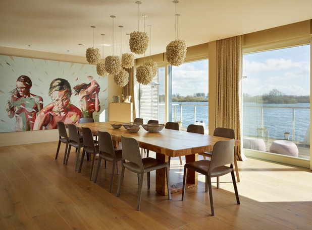 Contemporary Dining Room by Hobsons Choice