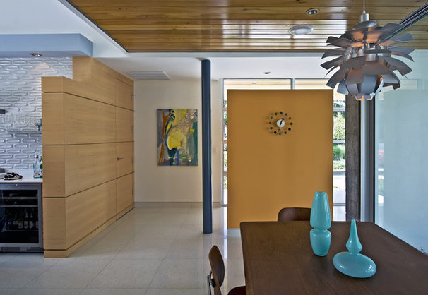Modern Dining Room by Balfoort Architecture, Inc.