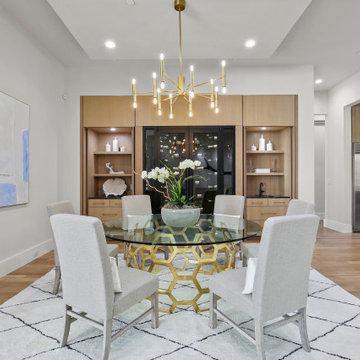 Burgundy - Dining Room