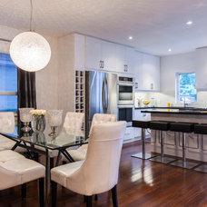 Contemporary Dining Room by Norseman Construction & Development Ltd.
