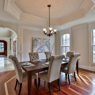 Burr Street Dining Room Staging