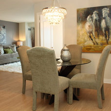 Contemporary Dining Room by Design To Go