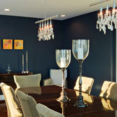Contemporary Dining Room by Busybee Design