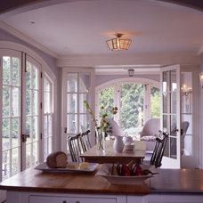 Beach Style Dining Room by Hickox Williams Architects, Inc.