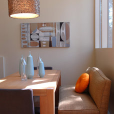 Contemporary Dining Room by Jodi Feinhor-Dennis