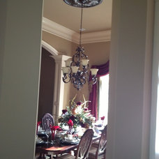 Traditional Dining Room by Knoxville's Stone Interiors