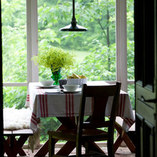 Rustic Dining Room by Jean Longpré