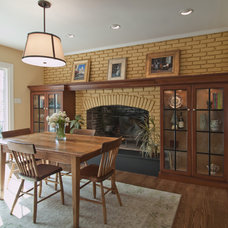 Eclectic Dining Room by Cameo Kitchens, Inc.