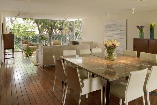 Contemporary Dining Room by vgzarquitectura y diseño sc