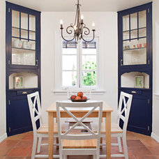 Eclectic Dining Room by Elan Designs