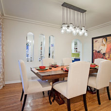 Contemporary Dining Room by Elan Designs
