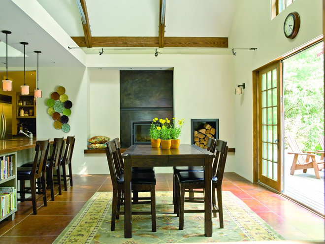 Traditional Dining Room by Johnson Squared Architecture + Planning