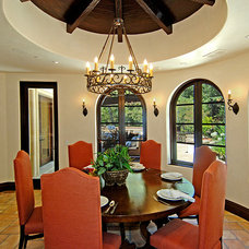 Mediterranean Dining Room by Joni Koenig Interiors