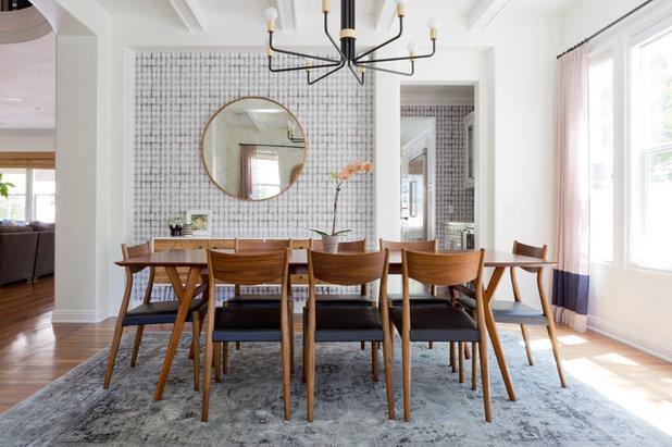 Teppich unterm Esstisch: Wie praktisch ist das eigentlich?