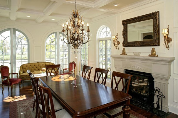 Traditional Dining Room by Alexander Design Group, Inc.