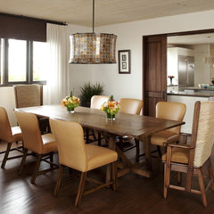 eclectic dining room by mark cutler