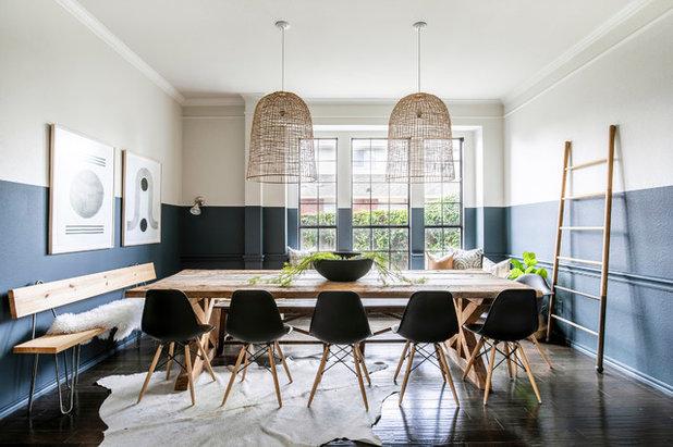 Coastal Dining Room by Urbanology Designs