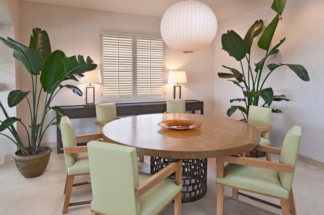 Contemporary Dining Room by Tom Stringer Design Partners