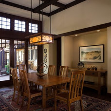 Craftsman Dining Room by Shannon White Design