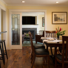Traditional Dining Room by Springs Construction Company