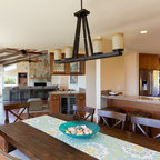 Michigan Summer Home - Beach Style - Dining Room - Other ...