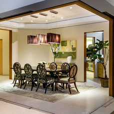 Modern Dining Room by mark pinkerton  - vi360 photography