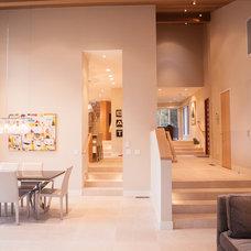 Modern Dining Room by Lauren Brandwein