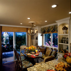 Traditional Dining Room by frank pitman designs
