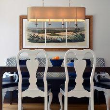 Contemporary Dining Room by Benson & Associates, Interior Design