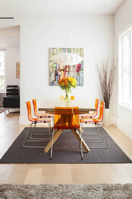 Contemporary Dining Room by Natural Balance Home Builders