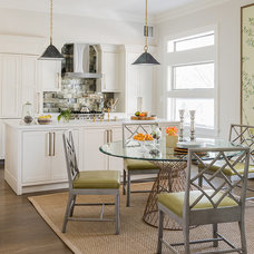 Transitional Dining Room by Lovejoy Designs