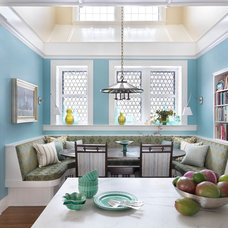 Traditional Dining Room by Taylor Interior Design