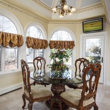 Traditional Dining Room by Creative Design Construction, Inc.