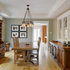 Traditional Dining Room by Chuck Mills Residential Design & Development Inc.