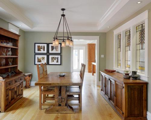 Sage Green Dining Room Design Ideas Remodels Photos