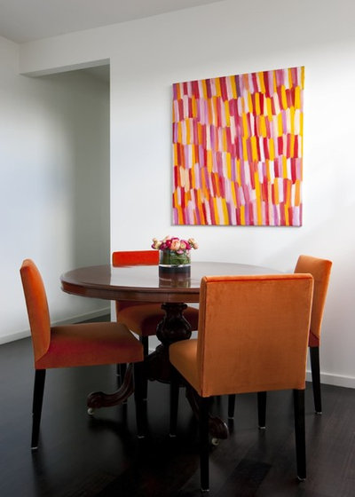Contemporary Dining Room by Camilla Molders Design