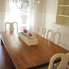 Traditional Dining Room Canadian Cottage