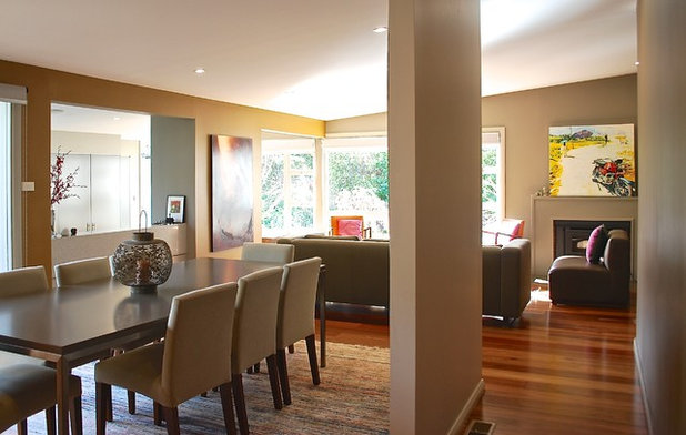 Contemporary Dining Room by Luci.D Interiors