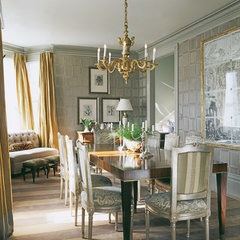 traditional dining room by Candace Barnes