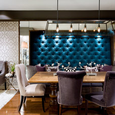 Contemporary Dining Room by Brandon Barré Architectural Interior Photographer