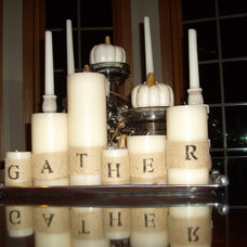 Dining Room candlescape