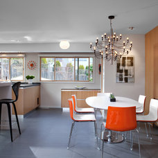 Midcentury Dining Room by CCI Renovations