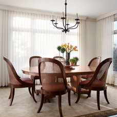 Traditional Dining Room by Jessica Jubelirer Design