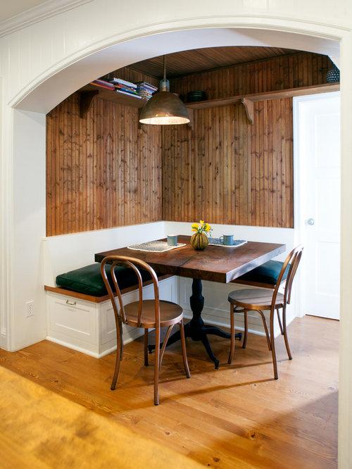 Built in breakfast nook home design ideas pictures for 1235 s prairie floor plans
