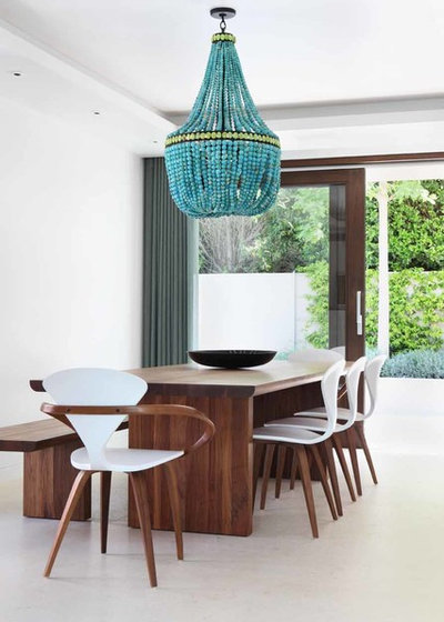 Contemporary Dining Room by Edit Design Studio