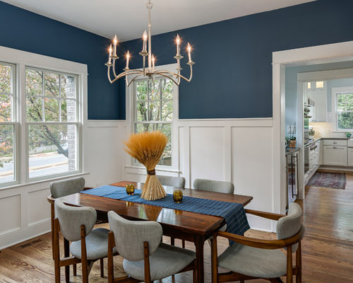 dining room decor gray. Example of a mid sized classic medium tone wood floor enclosed dining room  design in Best 15 Gray Dining Room Ideas Remodeling Pictures Houzz